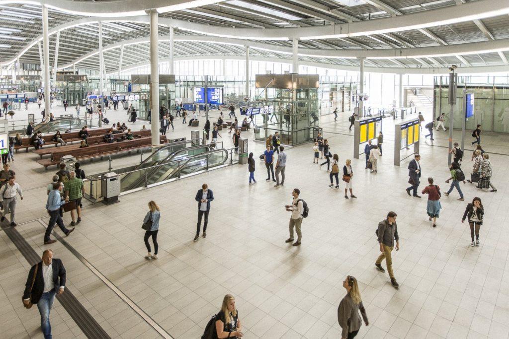Utrecht Stationsgebied Stationshal ©Wouter Jansen