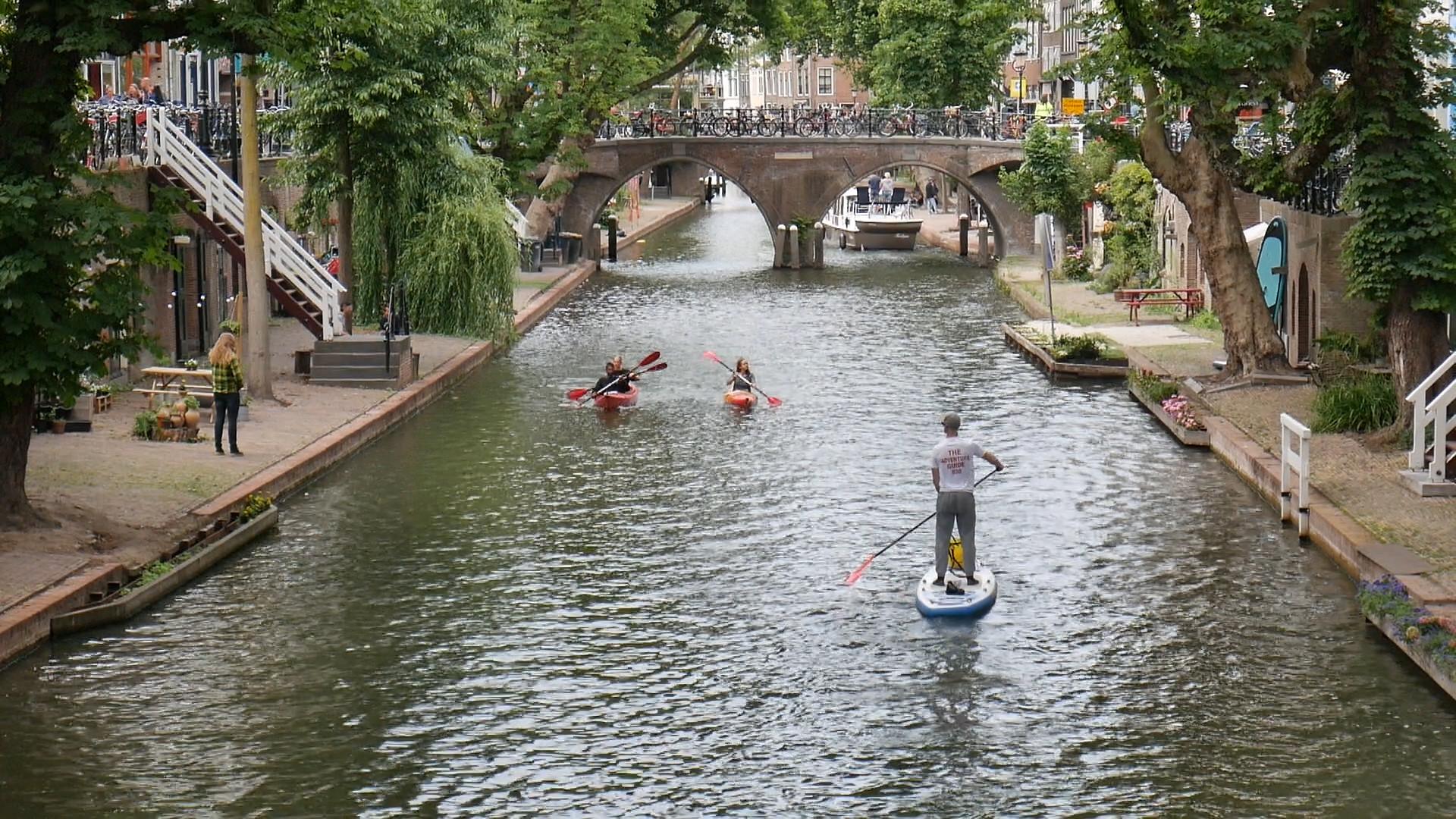 Kano of SUP voor een schoner Utrecht | Varen in Utrecht