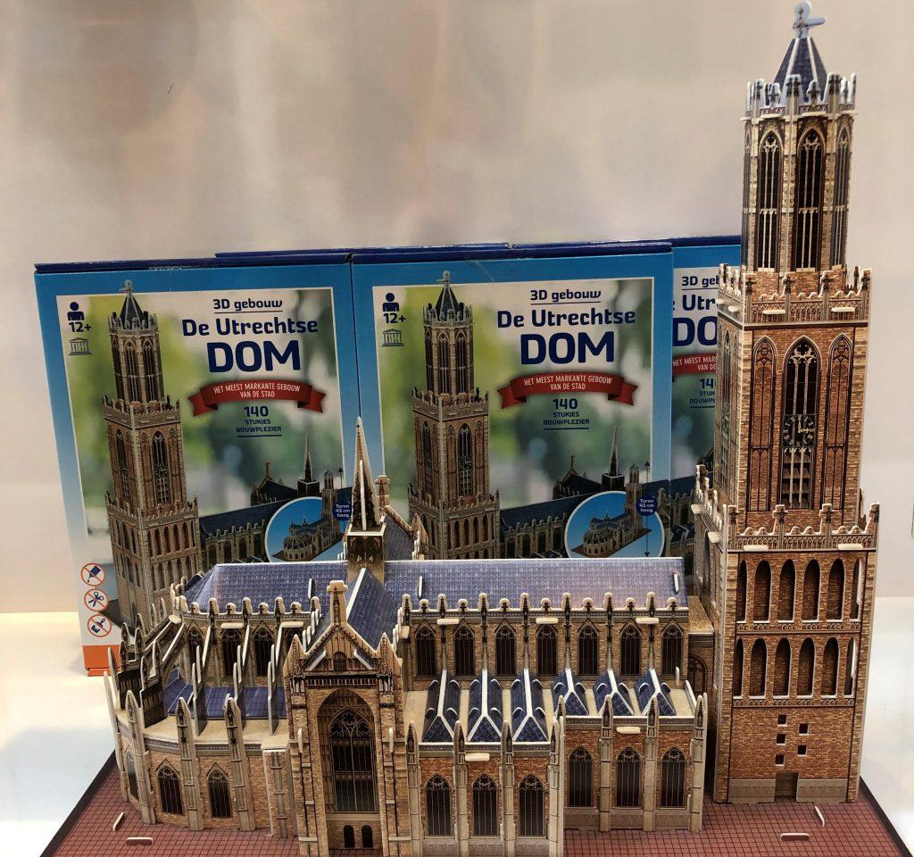 Domtoren Puzzel VVV Utrecht Domplein