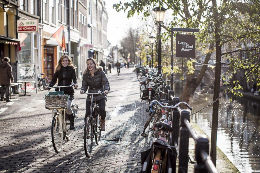 Fietsers OV-fiets