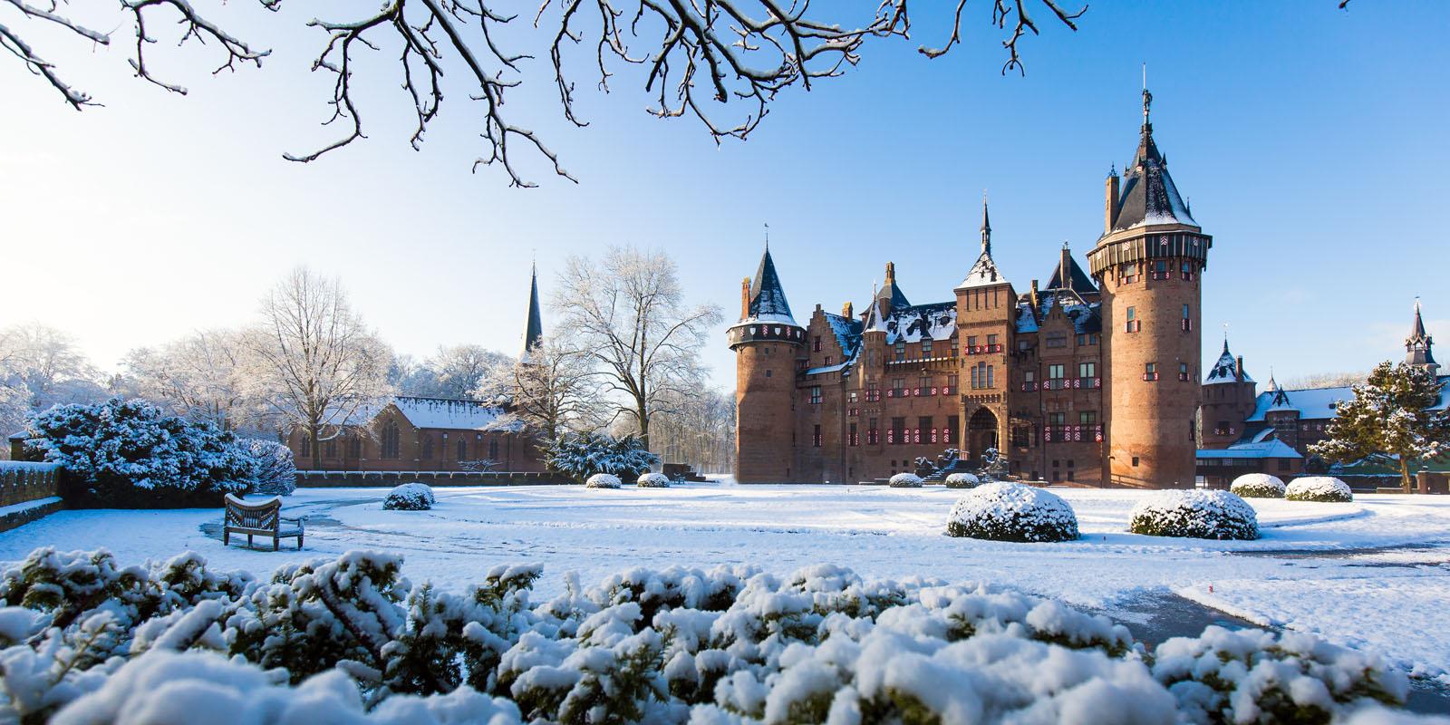Kasteel de Haar Utrecht - winter