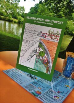 Utrecht Verbindt- Kleurplaat