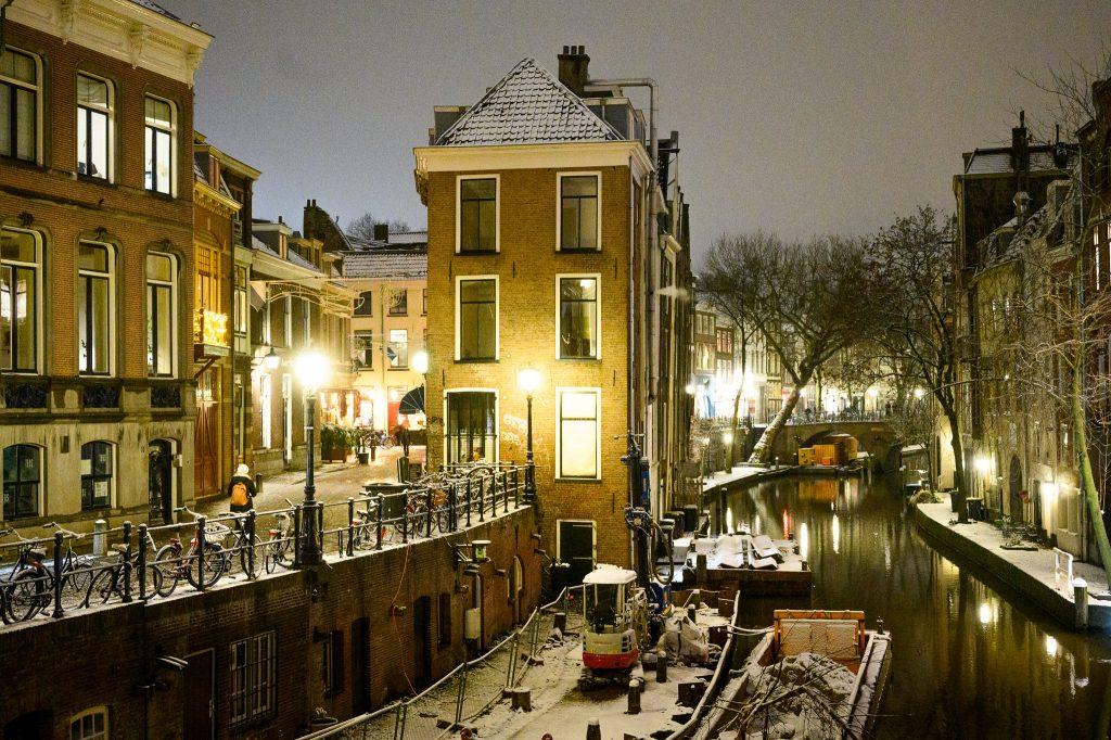 Sneeuw Utrecht